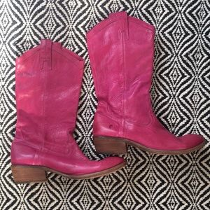 Shoes - Frye Carson Pull Up Boots